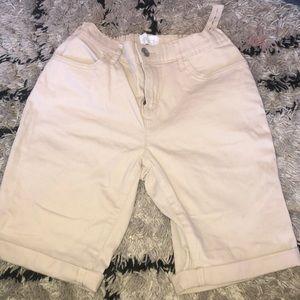 Children's place khaki shorts